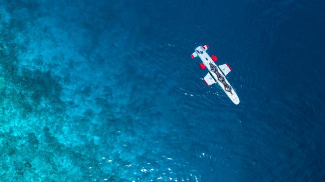 Private submarine in Maldives